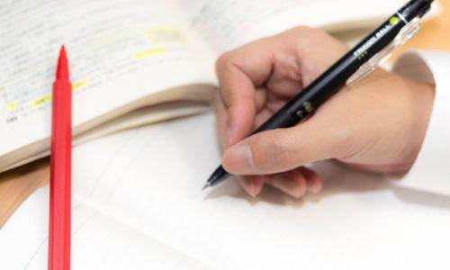 重要事項がスラスラ覚えられる赤と黒のペン